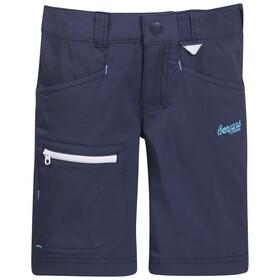 Bergans Kids Utne Shorts Navy/White/Deep Turquoise
